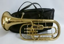 B & S Sonora Tenor Horn With Soft Case