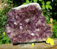 Amethyst Quartz Crystal Cluster Geode - Large Natural Raw Mineral Healing 4944g