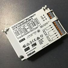 OSRAM MULTIWATT QT-M 2X 26W 42W 24w 36w 40w 220-240v Electronic Ballast