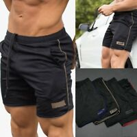 Men's Quick Dry Sports Trainning Gym Running Shorts Casual Breathable Bottoms