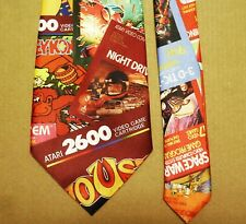 UNIQUE TIE - OLD ATARI GAMES -