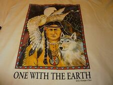 One With The Earth Vintage Shirt ( Size Xl ) New Deadstock!