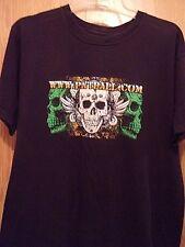 Paintball black graphic skull XL t shirt