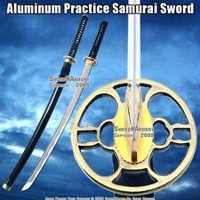 Unsharpened Aluminum Blade Iaito Kendo Kumdo Practice Training Katana Sword