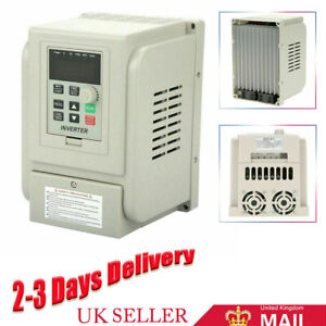2.2KW AC Single To 3 Phase VFD Variable Frequency Drive Inverter Speed Converter