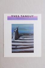 YVES TANGUY - A retrospective - brochure - 1983
