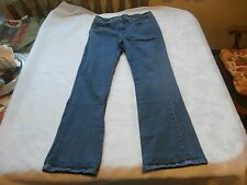 LEE SLENDER SECRET LOWRISE BOOTCUT WOMENS STRETCH BLUE JEANS size 12 short