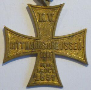 Orden, Krieger-Verein Dittmanns u. Reusendorf 1857 (Art.3029)