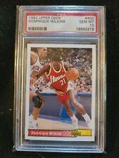 New listing 1992 Upper Deck Basketball #400 Dominique Wilkins PSA 10 Gem Mint HOF