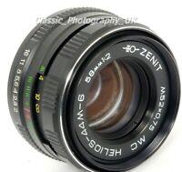 Helios-44M-6 2/58mm MC BIOTAR Style Lens Made in USSR 1994 M42 & DIGITAL Canon