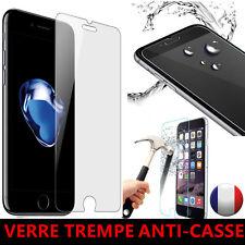 Vitre iPhone 7/8/SE/6/6S/5S protection verre trempé film protecteur écran 2.5 D