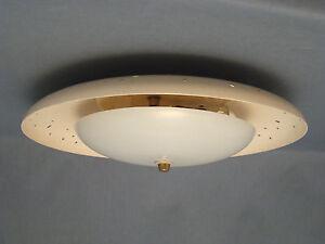 50er Years Ceiling Light Stilnovo Arteluce Age