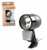 LED Fahrradscheinwerfer 100 LUX Fahrrad Lampe Nabendynamo Standlicht Sensor