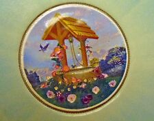 {BJStamps} Kennedy Half Dollar Painted Wishing Well Colorized w/ COA LOT of 4