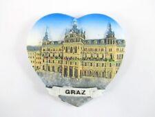 Graz Rathaus Magnet 3D Optik 7,5 cm,Souvenir Österreich,Neu