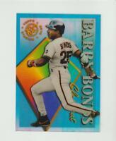 1995 Topps Stadium Club Clear Cuts #27 Barry Bonds card, San Francisco Giants