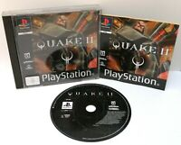 Quake 2 ~ Sony Playstation PS1 ~ Black Label PAL Game *Excellent Complete*