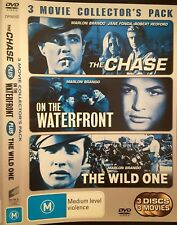 DVD - Marlon Brando - The Chase, On the Waterfront & The Wild One - PAL R4