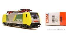 PIKO 97729. Loco elettrica ES 64 F4-093 NORD CARGO in livrea verde giallo grigio