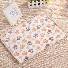 Soft Comfy Washable Cute Soft Warm Coral Fleece Pet Blanket Dogs&Cats Beds Mat