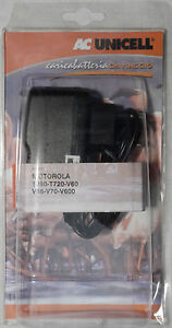 PRL) MOTOROLA MAINS BATTERY CHARGER CARICABATTERIE CELLULARE RETE VIAGGIO