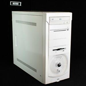 VINTAGE SPACE DESKTOP COMPUTER PENTIUM 4 2.66 GHz 4GB RAM 500GB HDD WIN 7 W268