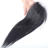 "Lace Top Closure 100% Brazilian Virgin Human Hair Closure Silky Straight 4""*4"""