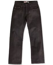 NEW LEVIS 505 Regular Fit Levine Black Denim Jeans Boys Size 10 W25 X L25