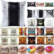 Cushion Cover Throw Pillows Case Waist Home Pillowcase Home Sofa Bedroom DecorsA