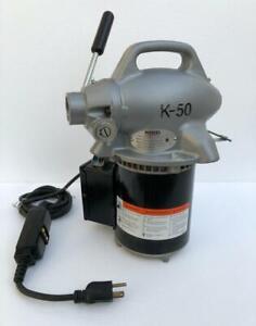 RIDGID K-50 SECTIONAL DRAIN CLEANING MACHINE 115V NEW #1