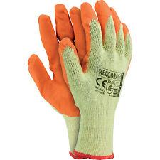 Arbeitshandschuhe 1 Paar Strick mit Latexbeschichtung Schutzhandschuhe Top XL