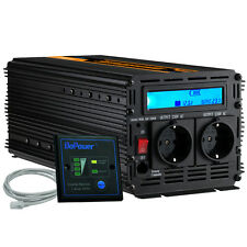 Power Inverter 3000 6000W 12V 240V converter with Remote and LCD Display