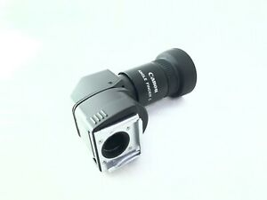 <NEAR MINT+++> Canon Angle Finder C 1.25x 2.5x For EOS w/Adapter Ec-C Japan 2410
