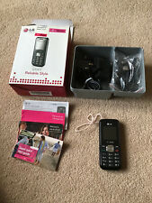 L.G. GS101  T- Mobile phone (Boxed)