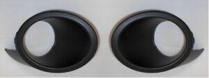 Left & Right Side Fog Light Bezels Covers Mitsubishi Endeavor  WITH Fog Lights