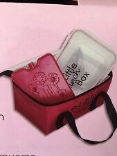 Kühltasche Lunchbox Frühstücksbox Kühlelement 3 Teilig Rot
