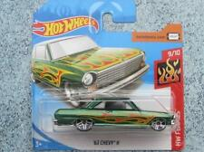HOT WHEELS 2018 #110/365 1963 Chevy II Verde HW Fiamme