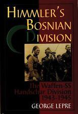 HIMMLER'S BOSNIAN DIVISION - NEW HARDCOVER BOOK