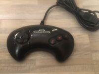 OEM Original Sega Genesis MK-1650 3 Button Controller - Fully Refurbished