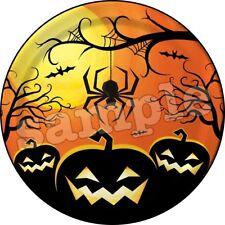 Halloween Tortenaufleger Party Deko Tortenbild Skelett Kürbis Spinne neu Kostüm
