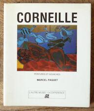 MARCEL PAQUET CORNEILLE Peintures et gouaches LA DIFFERENCE Ed  envoi auteur