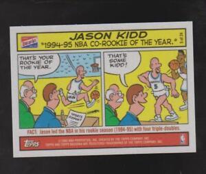 2003 Topps Bazooka Comics #5 Jason Kidd card, Dallas Mavericks HOF