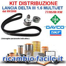KIT DISTRIBUZIONE LANCIA DELTA III 1.6 MULTIJET 77 85 88 KW NUOVO ADATT 71754562