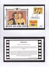GB 1995 Greetings Stamps Benham silk Series The Kiss (8) Unadressed FDC