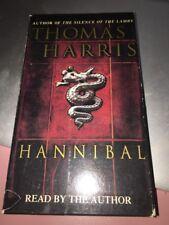 Thomas Harris HANNIBAL Audio Book Cassette Tapes Abridged Thriller Horror