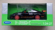 WELLY Porsche 911 GT3 RS 1/24 Die Cast Car Black (Brand New)