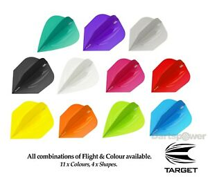 Target ID Pro Ultra Dart Flights - 11 Colours & 4 Shapes Available