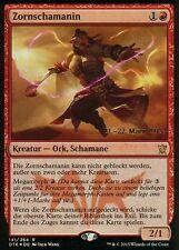 Zornschamanin foil/IRE Shaman | ex | versiones preliminares promos | ger | Magic mtg