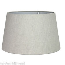 House Additions Linen Empire Shade- 38cm Colour: Natural