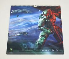 Halo 2 2004 Xbox calendar - NFS Limited Edition Microsoft Bungie Collectible